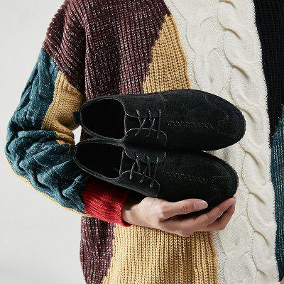 2018 Spring New Casual ShoesFlats &amp; Loafers<br>2018 Spring New Casual Shoes<br><br>Available Size: 39,40,41,42,43,44<br>Closure Type: Lace-Up<br>Embellishment: None<br>Gender: For Men<br>Outsole Material: Plastic<br>Package Contents: 1 x Shoes ( pair )<br>Pattern Type: Solid<br>Season: Spring/Fall<br>Toe Shape: Round Toe<br>Toe Style: Closed Toe<br>Upper Material: PU<br>Weight: 1.1151kg