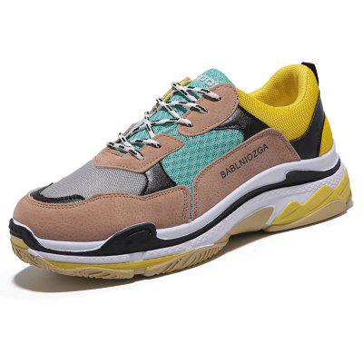 2018 New Sports All-Match ShoesMen's Sneakers<br>2018 New Sports All-Match Shoes<br><br>Available Size: 39,40,41,42,43,44<br>Closure Type: Lace-Up<br>Embellishment: Letter<br>Gender: For Men<br>Outsole Material: Plastic<br>Package Contents: 1 x Shoes ( pair )<br>Pattern Type: Patchwork<br>Season: Spring/Fall<br>Toe Shape: Round Toe<br>Toe Style: Closed Toe<br>Upper Material: PU<br>Weight: 1.1151kg