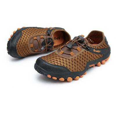 Lightweight Beach Swimming Breathable Sandals Shoes Comfort FlatsSneakersMen's Sneakers<br>Lightweight Beach Swimming Breathable Sandals Shoes Comfort FlatsSneakers<br><br>Available Size: 39-45<br>Closure Type: Lace-Up<br>Feature: Breathable<br>Gender: For Men<br>Outsole Material: Rubber<br>Package Contents: 1?Shoes(pair)<br>Package Size(L x W x H): 30.00 x 20.00 x 10.00 cm / 11.81 x 7.87 x 3.94 inches<br>Package weight: 0.4200 kg<br>Pattern Type: Solid<br>Product weight: 0.3600 kg<br>Season: Summer<br>Shoe Width: Medium(B/M)<br>Upper Material: Cloth