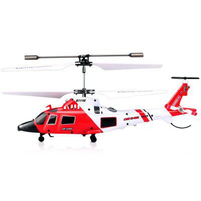 S111G 3.5CH Remote Control with LED Light RC Helicopter