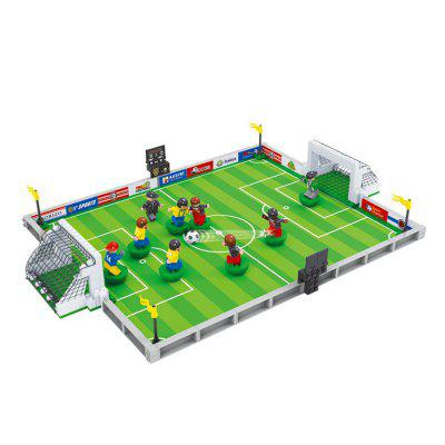 3D Model Building Block Mini Action Figure Educational Toy for Kids - GREEN