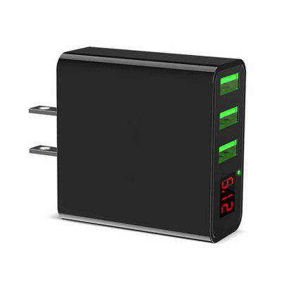 LED Display 2.4A Maximum AC ChargerChargers &amp; Cables<br>LED Display 2.4A Maximum AC Charger<br><br>Color: Black<br>Package Contents: 1 x  USB Charger<br>Package size (L x W x H): 6.50 x 5.50 x 3.00 cm / 2.56 x 2.17 x 1.18 inches<br>Package weight: 0.0650 kg<br>Product size (L x W x H): 5.50 x 5.00 x 2.30 cm / 2.17 x 1.97 x 0.91 inches<br>Product weight: 0.0580 kg