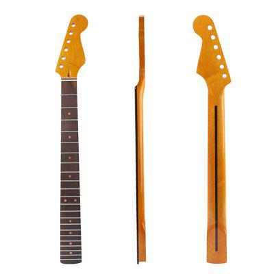 22 Fret Maple Neck Rosewood Fingerboard Oranger Dot para ST Guitarra Elétrica