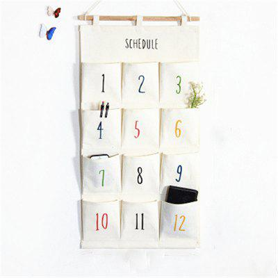 Simple Number 12 Check Hanging Receive Bag
