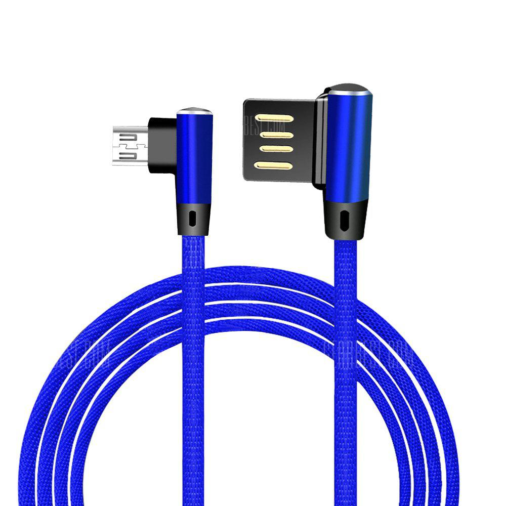 Double Elbow Weaving Data Cable