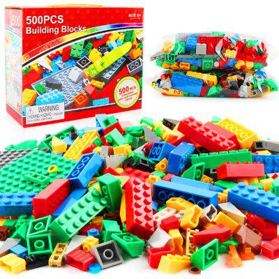Small Particles Block Particles Educational Toys 500PCS - RED