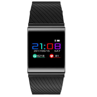 X9PRO Smart Hand Ring Touch Color Screen Blood Pressure Heart Rate Health TestSmart Watches<br>X9PRO Smart Hand Ring Touch Color Screen Blood Pressure Heart Rate Health Test<br><br>Alert type: Vibration<br>Available Color: Black,Red<br>Band material: Silicone<br>Band size: 213MM<br>Battery  Capacity: 105MAH<br>Bluetooth Version: Bluetooth 2.0<br>Case material: Zinc Alloy<br>Charging Time: About 2hours<br>Compatability: Android 4.0/IOS 8.0<br>Compatible OS: IOS, Android<br>Dial size: 42X10.8MM<br>Functions: Measurement of heart rate, Sleep management, Avoid phone loss, Camera remote control, Calories burned measuring, Distance recording, Incoming calls show, Pedometer, Date, Alarm Clock, Time<br>IP rating: IP 67<br>Language: English,French,Spanish,Portuguese,Russian,German,Italian,Japanese,Korean<br>Notification type: WhatsApp, Twitter, Wechat<br>Operating mode: Touch Screen<br>Package Contents: 1 x Manual,2xA Bracelet,3 x Charging Line<br>Package size (L x W x H): 11.50 x 7.00 x 6.50 cm / 4.53 x 2.76 x 2.56 inches<br>Package weight: 0.1100 kg<br>People: Male table,Female table<br>Product size (L x W x H): 25.50 x 4.20 x 1.08 cm / 10.04 x 1.65 x 0.43 inches<br>Product weight: 0.1100 kg<br>Screen type: OLED<br>Shape of the dial: Rectangle<br>Standby time: 7<br>Type of battery: Built-In Lithium Batteries<br>Waterproof: Yes<br>Wearable length: 255MM