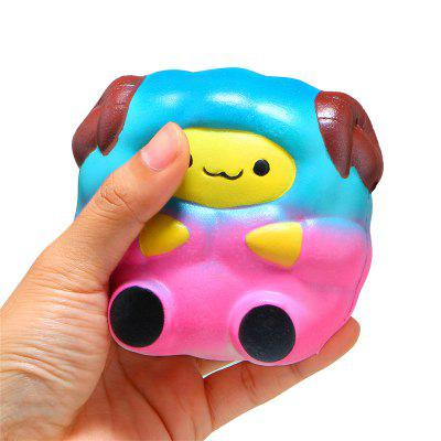 Cute Rainbow Starry Sheep Jumbo Squishy Soft Squeeze Cream Scented Fun Toy jumbo squishy cute glasses bear scented charm super slow rising squeeze toy