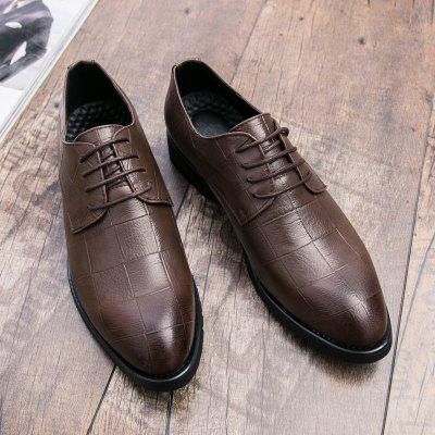 Leather Leisure Shoes Men Business Wedding Fashion Breathable Star Sneakers fashion business men