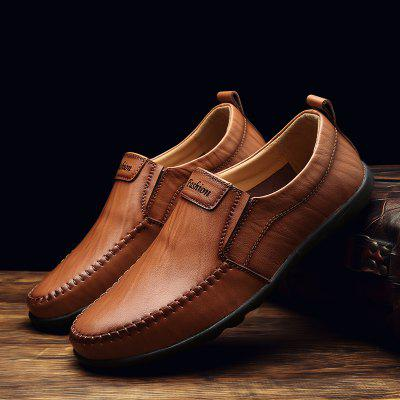 Breathable Leather Business Formal Fashion Shoes Comfort FlatsSneakersMen's Oxford<br>Breathable Leather Business Formal Fashion Shoes Comfort FlatsSneakers<br><br>Available Size: 38-44<br>Closure Type: Slip-On<br>Embellishment: None<br>Gender: For Men<br>Outsole Material: Rubber<br>Package Contents: 1?Shoes(pair)<br>Pattern Type: Solid<br>Season: Summer, Winter, Spring/Fall<br>Toe Shape: Round Toe<br>Toe Style: Closed Toe<br>Upper Material: Leather<br>Weight: 1.2000kg