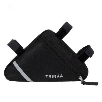 Waterproof Triangle Bags Bike Bicycle Front Tube Frame Pouch Saddle Bag