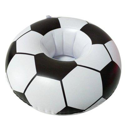 Mini-Inflatable Floating Soccer Cup Holder Float Circle for Summer Swim PoolOther Water Sports Accessories<br>Mini-Inflatable Floating Soccer Cup Holder Float Circle for Summer Swim Pool<br><br>Color: Black<br>Material: PVC<br>Package Content: 1 x Water Cup Holder<br>Package size: 10.00 x 10.00 x 4.00 cm / 3.94 x 3.94 x 1.57 inches<br>Package weight: 0.0350 kg<br>Product size: 22.00 x 8.00 x 3.00 cm / 8.66 x 3.15 x 1.18 inches<br>Product weight: 0.0320 kg