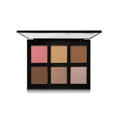 Menow Brand New Makeup 6 Colors Palette