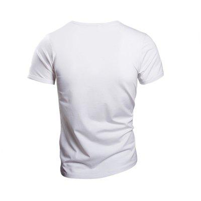 Mens Solid Color Short-sleeve V-neck T-shirtMens Short Sleeve Tees<br>Mens Solid Color Short-sleeve V-neck T-shirt<br><br>Collar: V-Neck<br>Fabric Type: Jersey<br>Material: Cotton, Spandex, Polyester<br>Package Contents: 1 x T-Shirt<br>Pattern Type: Solid<br>Sleeve Length: Short<br>Style: Casual<br>Weight: 0.1600kg