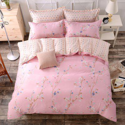 Chic Sweet Pink Floral Pattern Cosy Bedsheet SetBedding Sets<br>Chic Sweet Pink Floral Pattern Cosy Bedsheet Set<br><br>Package Contents: 1 x Duvet Cover, 1 x Bed Sheet, 2 x Pillowcase or 1 x Duvet Cover, 1 x Bed Sheet, 1 x Pillowcase<br>Package size (L x W x H): 40.00 x 32.00 x 5.00 cm / 15.75 x 12.6 x 1.97 inches<br>Package weight: 1.4000 kg<br>Pattern Type: Flower<br>Product size (L x W x H): 40.00 x 32.00 x 5.00 cm / 15.75 x 12.6 x 1.97 inches<br>Product weight: 1.4000 kg<br>Style: Romantic / Wedding