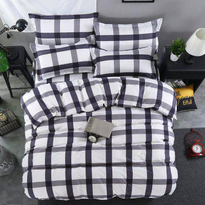 Brief Style Plaids Design Comfortable Ductile Bedding SetBedding Sets<br>Brief Style Plaids Design Comfortable Ductile Bedding Set<br><br>Package Contents: 1 x Duvet Cover, 1 x Bed Sheet, 2 x Pillowcase or 1 x Duvet Cover, 1 x Bed Sheet, 1 x Pillowcase<br>Package size (L x W x H): 40.00 x 32.00 x 5.00 cm / 15.75 x 12.6 x 1.97 inches<br>Package weight: 1.5000 kg<br>Pattern Type: Plaid<br>Product size (L x W x H): 40.00 x 32.00 x 5.00 cm / 15.75 x 12.6 x 1.97 inches<br>Product weight: 1.5000 kg<br>Style: Strip / Grid