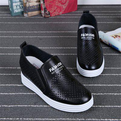 2018 New White Women Lazy Casual All-match Breathable ShoesLoafers<br>2018 New White Women Lazy Casual All-match Breathable Shoes<br><br>Available Size: 35 36 37 38 39 40<br>Closure Type: Slip-On<br>Embellishment: None<br>Gender: For Women<br>Outsole Material: Rubber<br>Package Contents: 1 x Shoes(pair)<br>Pattern Type: Others<br>Season: Spring/Fall<br>Toe Shape: Round Toe<br>Toe Style: Closed Toe<br>Upper Material: PU<br>Weight: 1.2000kg