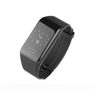Heart Rate Blood Pressure Monitor Pedometer Waterproof Smart BandSmart Watches<br>Heart Rate Blood Pressure Monitor Pedometer Waterproof Smart Band<br><br>Alert type: Vibration<br>Available Color: Black,Red,Blue<br>Band material: Silicone<br>Band size: 26 x 1.8 x 0.1 cm<br>Battery  Capacity: 45mAh lithium-ion battery<br>Bluetooth Version: Bluetooth 4.0<br>Case material: ABS<br>Charging Time: About 60mins<br>Compatability: IOS11<br>Compatible OS: IOS, Android<br>Dial size: 2.3 x 4.2<br>Functions: Call reminder, Measurement of heart rate, Notification of app, SMS Reminding, Pedometer, Time<br>IP rating: IP67<br>Language: English<br>Notification type: Wechat<br>Operating mode: Touch Screen<br>Package Contents: 1 x Smart Band , 1 x User Manual , 1 x Cable<br>Package size (L x W x H): 14.00 x 8.50 x 2.50 cm / 5.51 x 3.35 x 0.98 inches<br>Package weight: 0.0630 kg<br>People: Male table,Female table<br>Product size (L x W x H): 26.00 x 2.40 x 1.10 cm / 10.24 x 0.94 x 0.43 inches<br>Product weight: 0.0250 kg<br>Screen type: OLED<br>Shape of the dial: Rectangle<br>Waterproof: Yes<br>Wearable length: 24.5