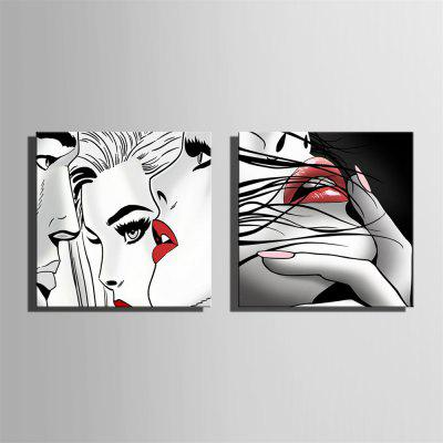 Special Design Frameless Paintings Lip Print 2PCSPrints<br>Special Design Frameless Paintings Lip Print 2PCS<br><br>Craft: Print<br>Form: Two Panels<br>Material: Canvas<br>Package Contents: 2 x Print<br>Package size (L x W x H): 32.00 x 33.00 x 3.50 cm / 12.6 x 12.99 x 1.38 inches<br>Package weight: 0.7000 kg<br>Painting: Without Inner Frame<br>Product size (L x W x H): 30.00 x 30.00 x 1.50 cm / 11.81 x 11.81 x 0.59 inches<br>Product weight: 0.6000 kg<br>Shape: Square<br>Style: Vintage, Fashion, Active, Formal, Casual, Novelty<br>Subjects: Fashion<br>Suitable Space: Indoor,Outdoor,Cafes,Kids Room,Kids Room,Study Room / Office