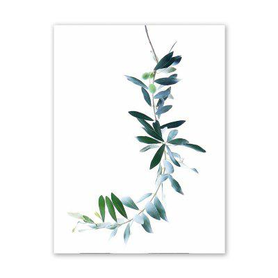 Buy W011 Leaves Unframed Art Wall Oil Canvas Prints for Home Decorations, MULTI-A, Home & Garden, Home Decors, Wall Art, Prints for $9.29 in GearBest store