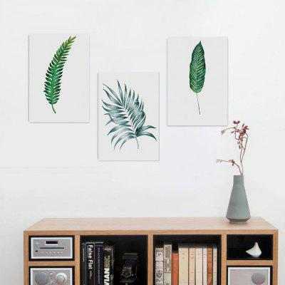 Buy W013 Leaves Unframed Art Wall Canvas Prints for Home Decorations 3 PCS, MULTI-A, Home & Garden, Home Decors, Wall Art, Prints for $13.40 in GearBest store