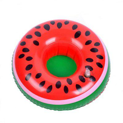 Mini Watermelon Lemon Pineapple Inflatable Cup Holder Beverage Boats