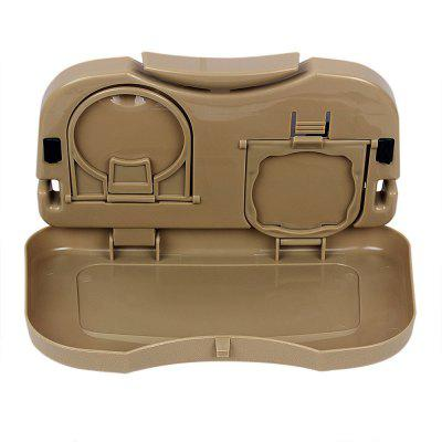 Auto Drink Food Cup Tray Car Back Seat Storage