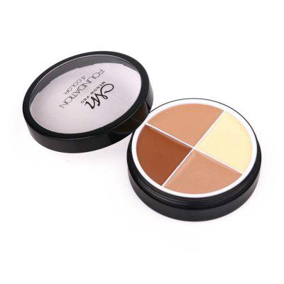 Menow Four Color Concealer Cream Cover Dark Circles Natural Professional