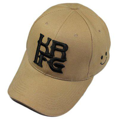KRFG Male and Female Fashion and Leisure Embroidered Lovers Baseball Cap