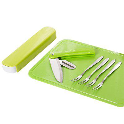 Multifunctional Stainless Steel Kitchen Fruit Cutter Set