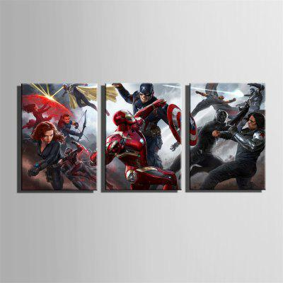 Special Design Frameless Paintings Battle Print 3PCSPrints<br>Special Design Frameless Paintings Battle Print 3PCS<br><br>Craft: Print<br>Form: Three Panels<br>Material: Canvas<br>Package Contents: 3 x Print<br>Package size (L x W x H): 26.00 x 37.00 x 5.00 cm / 10.24 x 14.57 x 1.97 inches<br>Package weight: 0.9000 kg<br>Painting: Without Inner Frame<br>Product size (L x W x H): 24.00 x 34.00 x 1.50 cm / 9.45 x 13.39 x 0.59 inches<br>Product weight: 0.8000 kg<br>Shape: Vertical<br>Style: Vintage, Fashion, Active, Formal, Casual, Novelty<br>Subjects: Fashion<br>Suitable Space: Indoor,Outdoor,Cafes,Kids Room,Kids Room,Study Room / Office
