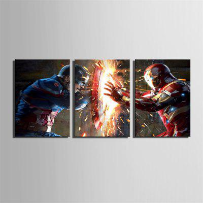 Special Design Frameless Paintings Combat Print 3PCSPrints<br>Special Design Frameless Paintings Combat Print 3PCS<br><br>Craft: Print<br>Form: Three Panels<br>Material: Canvas<br>Package Contents: 3 x Print<br>Package size (L x W x H): 52.00 x 73.00 x 5.00 cm / 20.47 x 28.74 x 1.97 inches<br>Package weight: 2.4500 kg<br>Painting: Without Inner Frame<br>Product size (L x W x H): 50.00 x 70.00 x 1.50 cm / 19.69 x 27.56 x 0.59 inches<br>Product weight: 2.3000 kg<br>Shape: Vertical<br>Style: Vintage, Fashion, Active, Formal, Casual, Novelty<br>Subjects: Fashion<br>Suitable Space: Indoor,Outdoor,Cafes,Kids Room,Kids Room,Study Room / Office