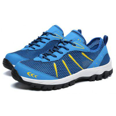 Sports Casual Mesh Breathable Climbing Men ShoesMen's Sneakers<br>Sports Casual Mesh Breathable Climbing Men Shoes<br><br>Available Size: 39,40,41,42,43,44,45,46,47,48<br>Closure Type: Lace-Up<br>Feature: Anti-slip, Crashworthy, Shock Absorption, Breathable, Durable<br>Gender: For Men<br>Outsole Material: Rubber<br>Package Contents: 1 x shoes(pair)<br>Package Size ( L x W x H ): 33.00 x 21.00 x 9.50 cm / 12.99 x 8.27 x 3.74 inches<br>Pattern Type: Others<br>Season: Spring/Fall<br>Type: Hiking Shoes<br>Upper Material: Cloth<br>Weight: 1.3167kg