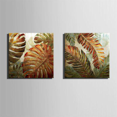Special Design Frameless Paintings Iron Leaf Print 2PCSPrints<br>Special Design Frameless Paintings Iron Leaf Print 2PCS<br><br>Craft: Print<br>Form: Two Panels<br>Material: Canvas<br>Package Contents: 2x Print<br>Package size (L x W x H): 32.00 x 33.00 x 3.50 cm / 12.6 x 12.99 x 1.38 inches<br>Package weight: 0.7000 kg<br>Painting: Without Inner Frame<br>Product size (L x W x H): 30.00 x 30.00 x 1.50 cm / 11.81 x 11.81 x 0.59 inches<br>Product weight: 0.6000 kg<br>Shape: Square<br>Style: Novelty, Fashion, Active, Casual<br>Subjects: Fashion<br>Suitable Space: Indoor,Outdoor,Cafes,Kids Room,Kids Room,Study Room / Office