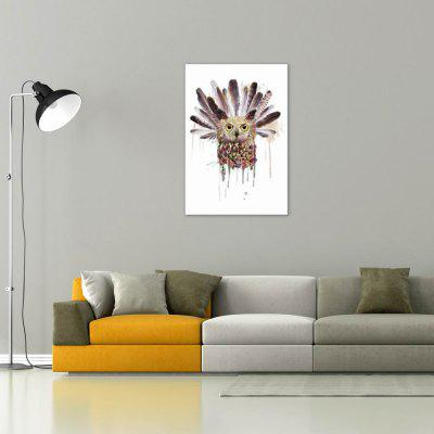 W024 Owl Unframed Wall Art Canvas Prints for Home DecorationPrints<br>W024 Owl Unframed Wall Art Canvas Prints for Home Decoration<br><br>Craft: Print<br>Form: One Panel<br>Material: Canvas<br>Package Contents: 1 x Print<br>Package size (L x W x H): 40.00 x 3.00 x 3.00 cm / 15.75 x 1.18 x 1.18 inches<br>Package weight: 0.0850 kg<br>Painting: Without Inner Frame<br>Product size (L x W x H): 40.00 x 60.00 x 1.00 cm / 15.75 x 23.62 x 0.39 inches<br>Product weight: 0.0800 kg<br>Shape: Vertical<br>Style: European Style, Artistic Style, Animal<br>Subjects: Vintage<br>Suitable Space: Living Room,Bedroom,Dining Room,Office,Hotel,Cafes,Study Room / Office