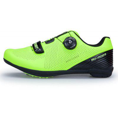 Stylish Reflective Stripes Road Bike Cycling ShoesMen's Sneakers<br>Stylish Reflective Stripes Road Bike Cycling Shoes<br><br>Available Size: 41-44<br>Closure Type: Zip<br>Feature: Breathable<br>Gender: For Men<br>Outsole Material: EVA<br>Package Contents: 1 x shoes(pair)<br>Package Size(L x W x H): 33.00 x 22.00 x 12.00 cm / 12.99 x 8.66 x 4.72 inches<br>Package weight: 1.0000 kg<br>Pattern Type: Striped<br>Product weight: 1.0000 kg<br>Season: Spring/Fall<br>Upper Material: Microfiber