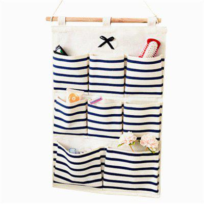 Contracted 8 Plaids Stripe Receive Hang Bag