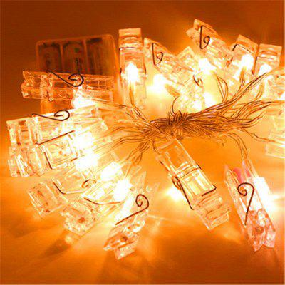 Creative Warm White Battery Photo Clip DecorationDecorative Lights<br>Creative Warm White Battery Photo Clip Decoration<br><br>Decorative Style: Simple and Modern<br>Features: Creative<br>For: Bar, Office, Cafe, Home, Hotel, Restaurant, Clothing Store, Saloon<br>Material: PVC, Plastic<br>Package Contents: 1 x Height Stickers.<br>Package size (L x W x H): 25.00 x 20.00 x 10.00 cm / 9.84 x 7.87 x 3.94 inches<br>Package weight: 0.3500 kg<br>Power Supply: Battery<br>Product size (L x W x H): 100.00 x 5.00 x 5.00 cm / 39.37 x 1.97 x 1.97 inches<br>Product weight: 0.3000 kg