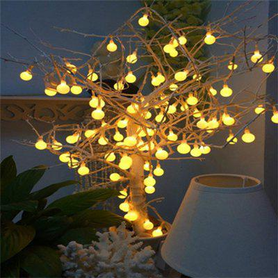 40 LED Small Round Ball Warm White Decorative Lamp String