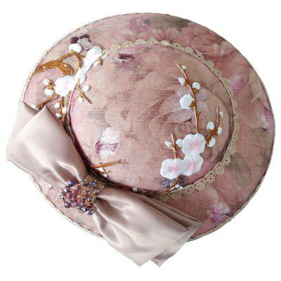 FEIS Fashion Bowknot Embroidery Hat