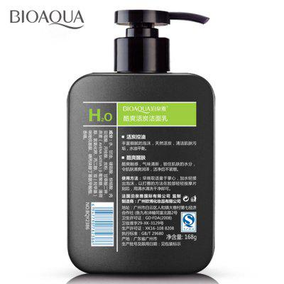 BIOAQUA Mens Oil Controlled Facial Cleanser 168GSkin Care<br>BIOAQUA Mens Oil Controlled Facial Cleanser 168G<br><br>Feature: Oil-control<br>Gender: Male<br>Item Type: Massage Cream<br>Net Weight: 168G<br>Package Content: 1 x Mildy Wash<br>Package size (L x W x H): 7.00 x 3.50 x 13.00 cm / 2.76 x 1.38 x 5.12 inches<br>Package weight: 0.1680 kg<br>Product size (L x W x H): 7.00 x 3.50 x 13.00 cm / 2.76 x 1.38 x 5.12 inches<br>Product weight: 0.1680 kg