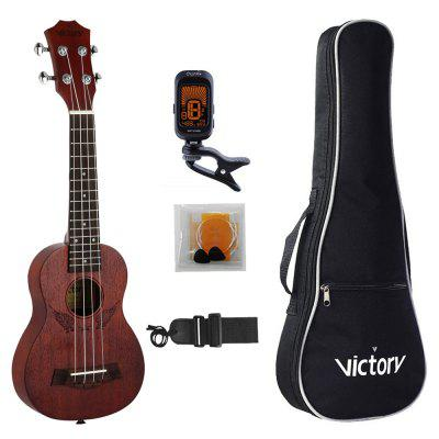 Concert Ukulele Angel 23 inch Mahogany Material for Beginner Kit - MAHOGANY