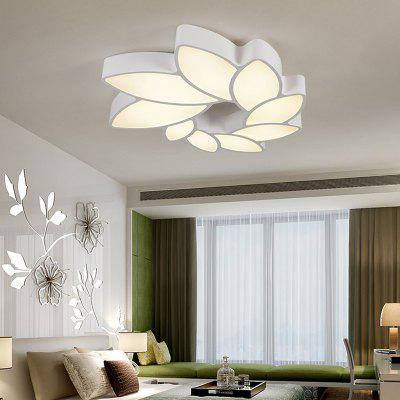 Modern LED Creative Geometric  Acrylic Ceiling  Lamp Floral Shape for  BedroomFlush Ceiling Lights<br>Modern LED Creative Geometric  Acrylic Ceiling  Lamp Floral Shape for  Bedroom<br><br>Battery Included: Non-preloaded<br>Bulb Base: LED Integrated<br>Bulb Included: Yes<br>Bulb Type: LED<br>Color Temperature or Wavelength: Warm White 3000K / Cold White 6000K<br>Decoration Material: Acrylic<br>Dimmable: No<br>Features: Bulb Included, Wrought Iron, Designers<br>Finish: Painting<br>Fixture Height ( CM ): 9<br>Fixture Length ( CM ): 60<br>Fixture Material: Metal<br>Fixture Width ( CM ): 55<br>Light Direction: Ambient Light<br>Light Source Color: Warm White,Cold White<br>Number of Tiers: Triple Tier<br>Package Contents: 1 x Ceiling Light, 1 x Fitting Bag<br>Package size (L x W x H): 70.00 x 63.00 x 17.00 cm / 27.56 x 24.8 x 6.69 inches<br>Package weight: 3.2000 kg<br>Product size (L x W x H): 60.00 x 55.00 x 9.00 cm / 23.62 x 21.65 x 3.54 inches<br>Product weight: 2.8000 kg<br>Remote Control Supported: No<br>Shade Material: Acrylic, Metal<br>Stepless Dimming: No<br>Style: Modern/Contemporary, LED<br>Suggested Room Size: 15 - 20?<br>Suggested Space Fit: Living Room,Bedroom,Dining Room,Kids Room,Study Room<br>Type: Flush Mount<br>Voltage ( V ): 110V - 220V,220V - 240V<br>Wattage (W): 36<br>Wattage per Bulb ( W ): 36