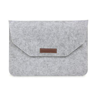 Felt Sleeve Case Protective Bag with Mouse Pouch for Macbook Air 13