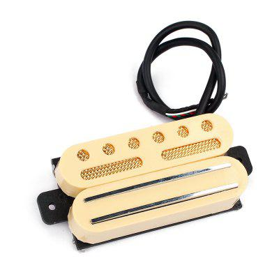 Guitar Hot Rails and Anlico V Pickup for ST Humbucker