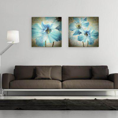 W108 Flowers Unframed Wall Canvas Prints for Home Decorations 2 PCSPrints<br>W108 Flowers Unframed Wall Canvas Prints for Home Decorations 2 PCS<br><br>Craft: Print<br>Form: Two Panels<br>Material: Canvas<br>Package Contents: 2 x Prints<br>Package size (L x W x H): 57.00 x 4.00 x 4.00 cm / 22.44 x 1.57 x 1.57 inches<br>Package weight: 0.1680 kg<br>Painting: Without Inner Frame<br>Product size (L x W x H): 50.00 x 50.00 x 2.00 cm / 19.69 x 19.69 x 0.79 inches<br>Product weight: 0.1600 kg<br>Shape: Square<br>Style: Floral, Artistic Style<br>Subjects: Botanical<br>Suitable Space: Living Room,Dining Room,Office,Hotel,Cafes
