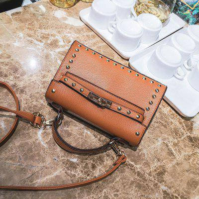 Messenger Fashion Atmosphere Portable Shoulder BagCrossbody Bags<br>Messenger Fashion Atmosphere Portable Shoulder Bag<br><br>Closure Type: Cover<br>Gender: For Women<br>Handbag Type: Crossbody bag<br>Main Material: PU<br>Occasion: Versatile<br>Package Contents: 1 x Bag<br>Package size (L x W x H): 23.00 x 8.00 x 15.00 cm / 9.06 x 3.15 x 5.91 inches<br>Package weight: 0.4700 kg<br>Pattern Type: Solid<br>Product size (L x W x H): 22.00 x 7.00 x 14.00 cm / 8.66 x 2.76 x 5.51 inches<br>Product weight: 0.4500 kg<br>Style: Vintage