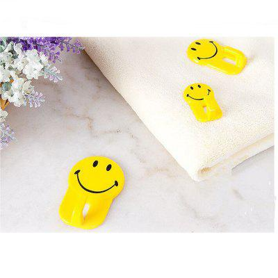 Creative Cartoon Wall Smile Strong Home Hook 3PCSHome Gadgets<br>Creative Cartoon Wall Smile Strong Home Hook 3PCS<br><br>Materials: ABS<br>Package Contents: 3 x Hooks<br>Package Size(L x W x H): 10.00 x 8.00 x 8.00 cm / 3.94 x 3.15 x 3.15 inches<br>Package weight: 0.0250 kg<br>Product Size(L x W x H): 7.00 x 4.00 x 5.00 cm / 2.76 x 1.57 x 1.97 inches<br>Product weight: 0.0200 kg