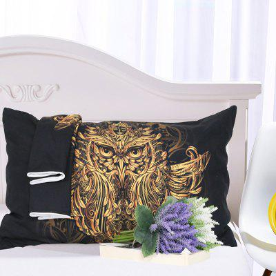 Golden Owl Bedding  Duvet Cover Set Digital Print 3pcsBedding Sets<br>Golden Owl Bedding  Duvet Cover Set Digital Print 3pcs<br><br>Backing Material: Polyester<br>Crafts: Reactive Print<br>Material: Polyester<br>Package Contents: 1 x Duvet Cover, 2 x Pillow Case<br>Package size (L x W x H): 35.00 x 25.00 x 9.00 cm / 13.78 x 9.84 x 3.54 inches<br>Package weight: 1.3000 kg<br>Patterns: Novelty,Print,Pattern,Cartoon,Creative,Sports,3D,Elephant,Multi Color,Patterns,American / USA<br>Product size (L x W x H): 30.00 x 20.00 x 5.00 cm / 11.81 x 7.87 x 1.97 inches<br>Product weight: 1.1000 kg<br>Reversible: No<br>Style: 3D, Modern / Contemporary, Fashion, Novelty, Casual<br>Thread Count: 200TC<br>Weave Type: Plain