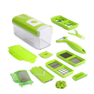 12 In 1 Fruit Vegetable Tools Slicer Kitchen Accessories Cooking Tools
